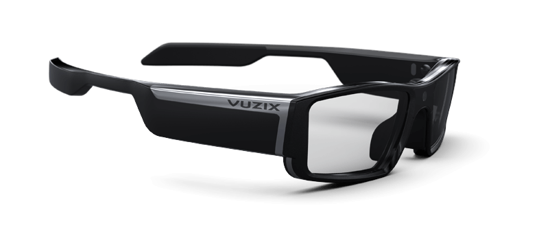 Vuzix smartglass captıon